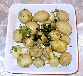 תפוחי אדמה ברוזמרין ובשמן זית