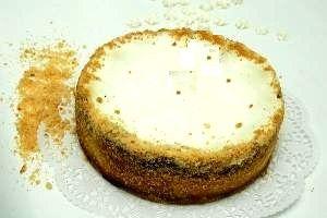 עוגת גבינה עם או ללא סוכר של לחם ארז