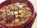 מרק בשר עם עדשים