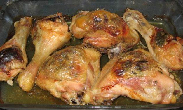 כרעיים בתנור ממולאות בפטריות, בצל ופטרוזיליה