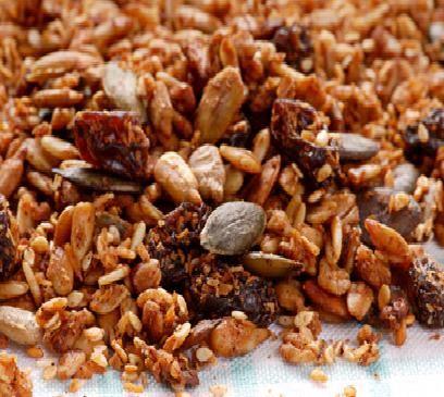 גרנולה תוצרת בית מזין טבעי ובריא