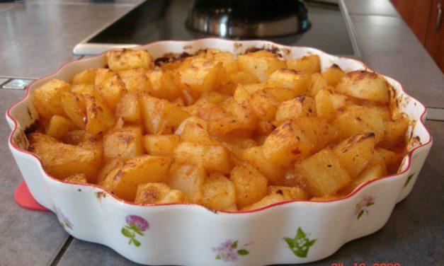 תפוחי אדמה ברוטב צילי