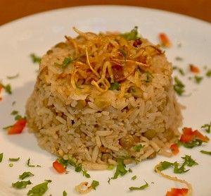 אורז מלא או אדום אפוי גירסה בסיסית