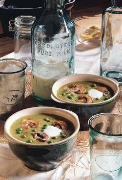 מרק אפונה יבשה בטעם מעושן נוסח אירלנדי בסיר בישול איטי